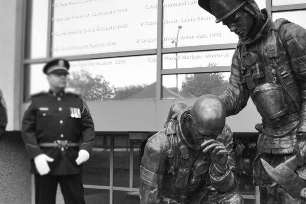 Commémoration des pompiers décédés – Le 28 mai 2017